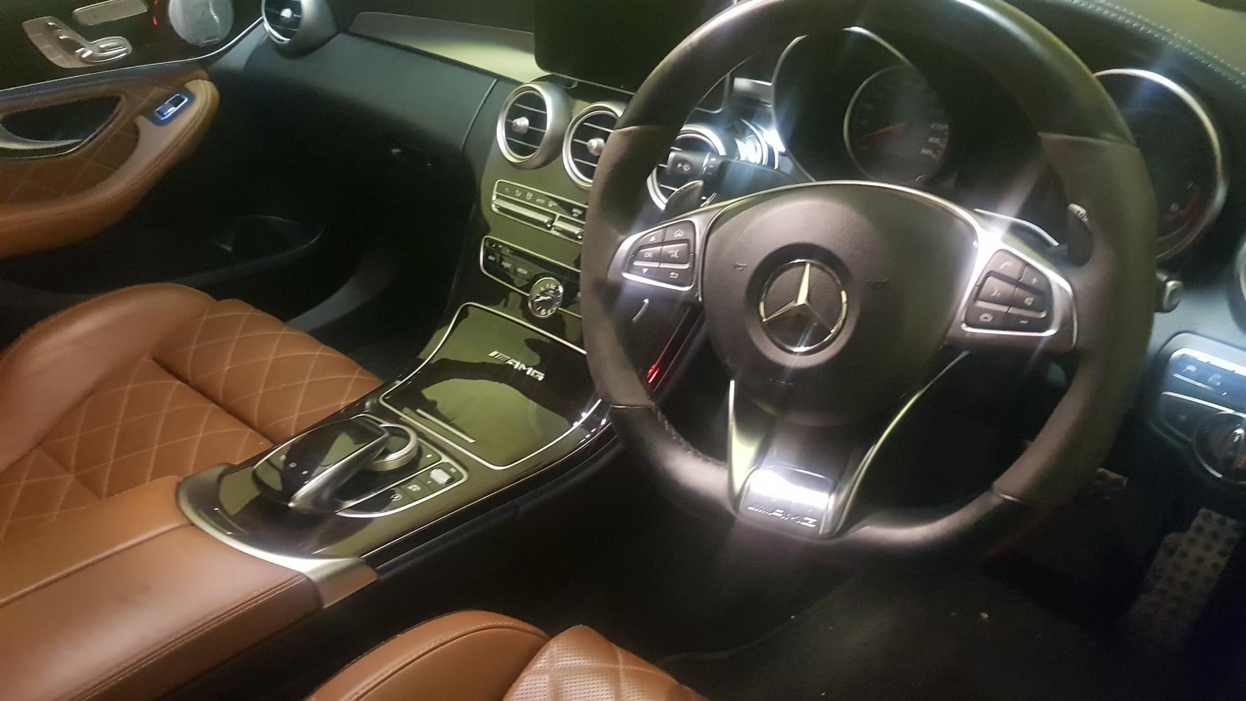 2016 Mercedes Benz C-Class sedan AMG C63 S