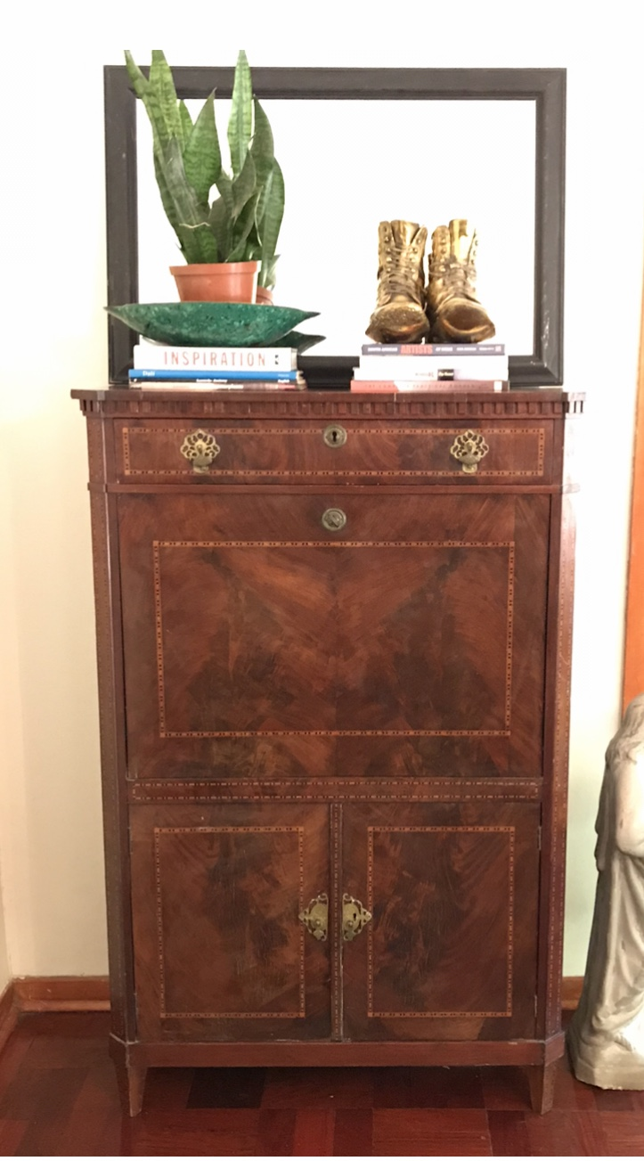 Antique mahogany writers desk