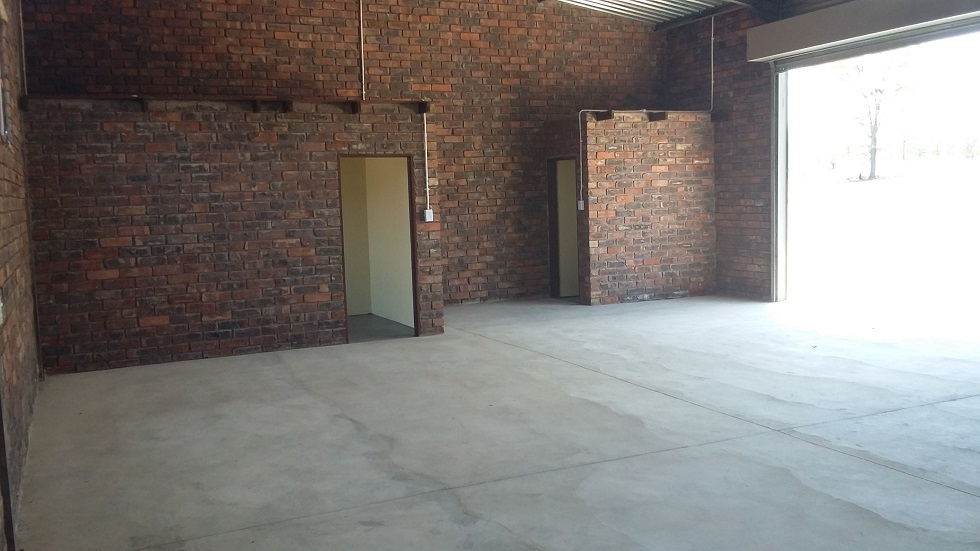 Industrial property with good, solid income.