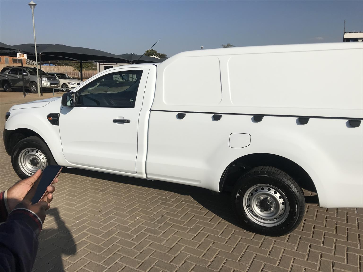 FORD RANGER SINGLE CAB CANOPY