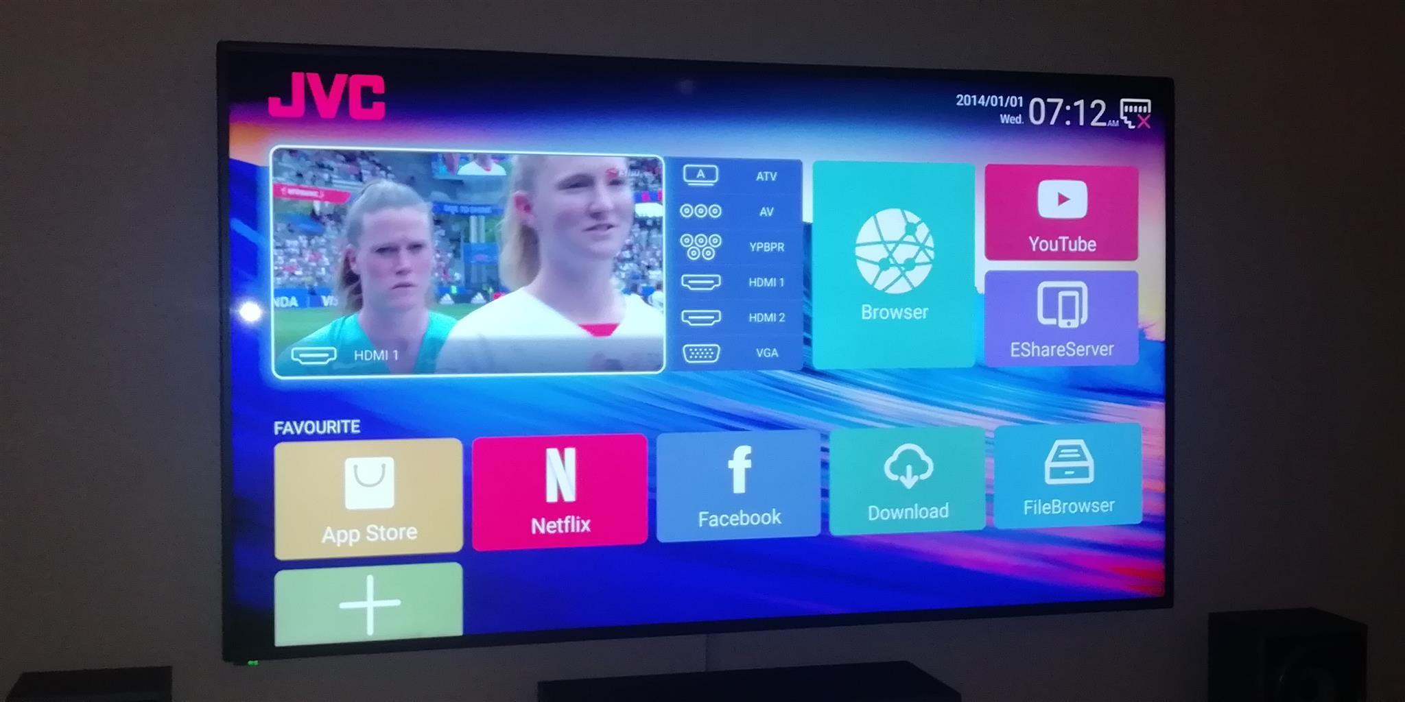 JVC 58 Inch uhd 4K Smart TV | Junk Mail