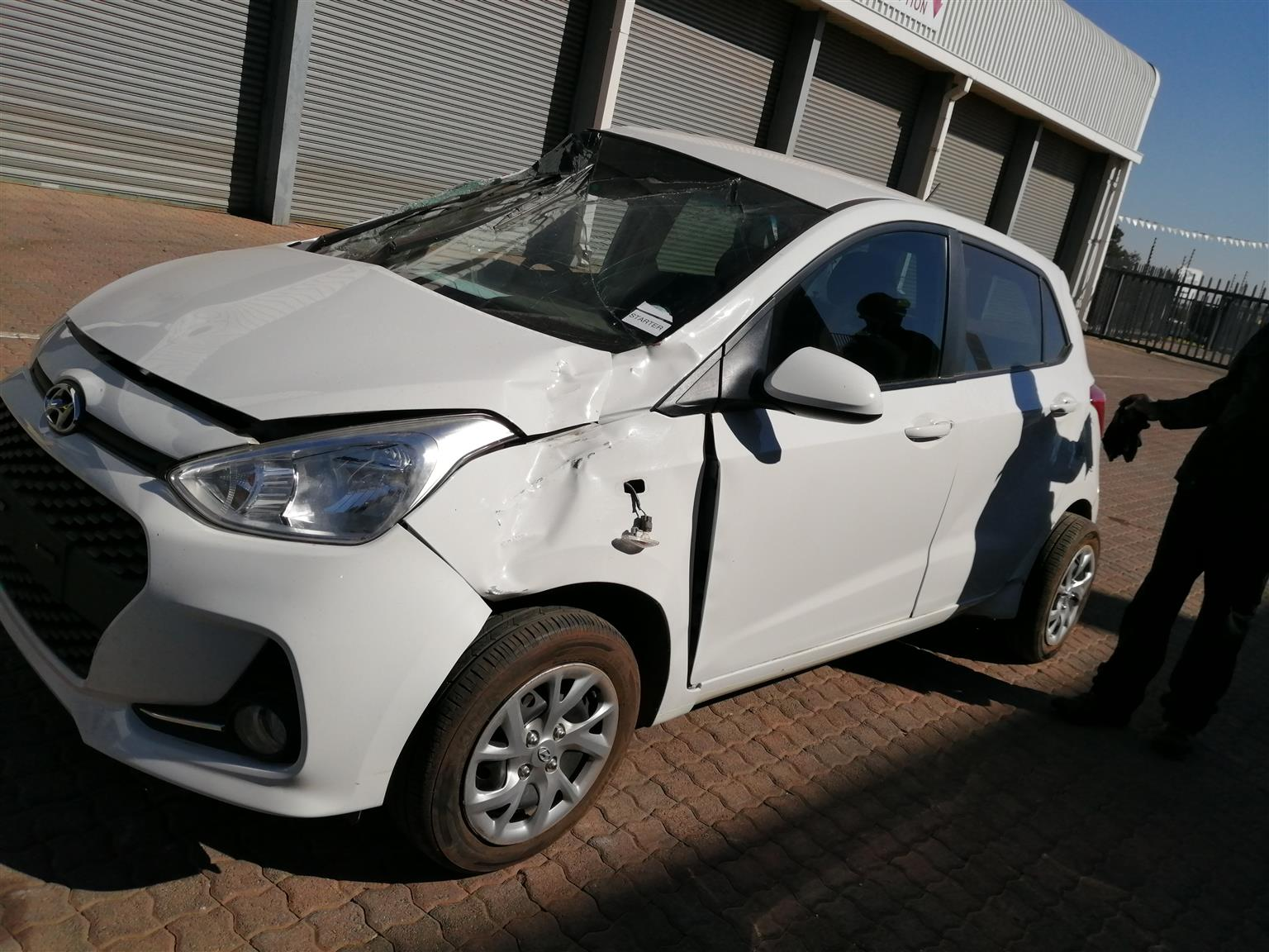 Stripping Hyundai Grand I10 2018