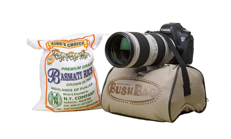 Bush Bag Professional Photo Bean Bag - The best way to keep your camera stable without a tripod!