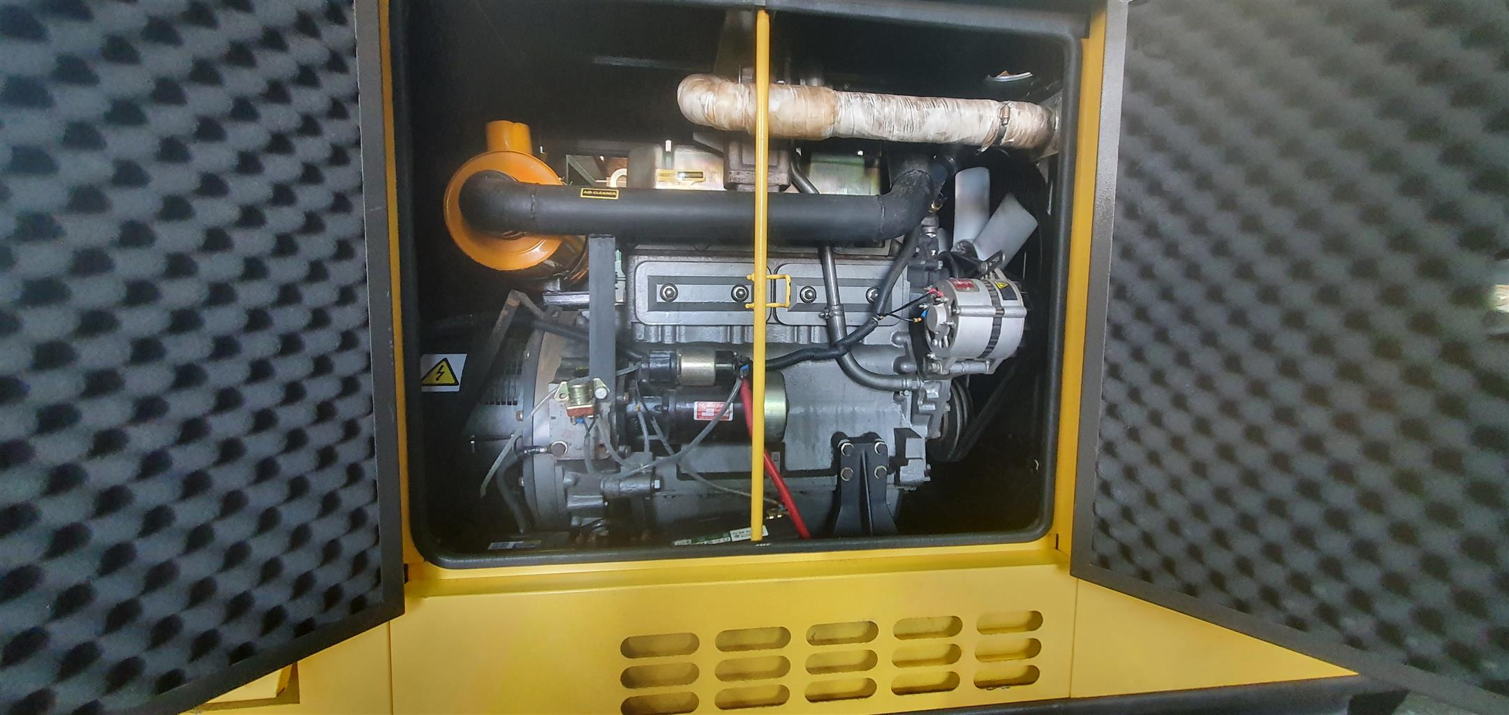 50 KVA Ricardo generator in Canopy