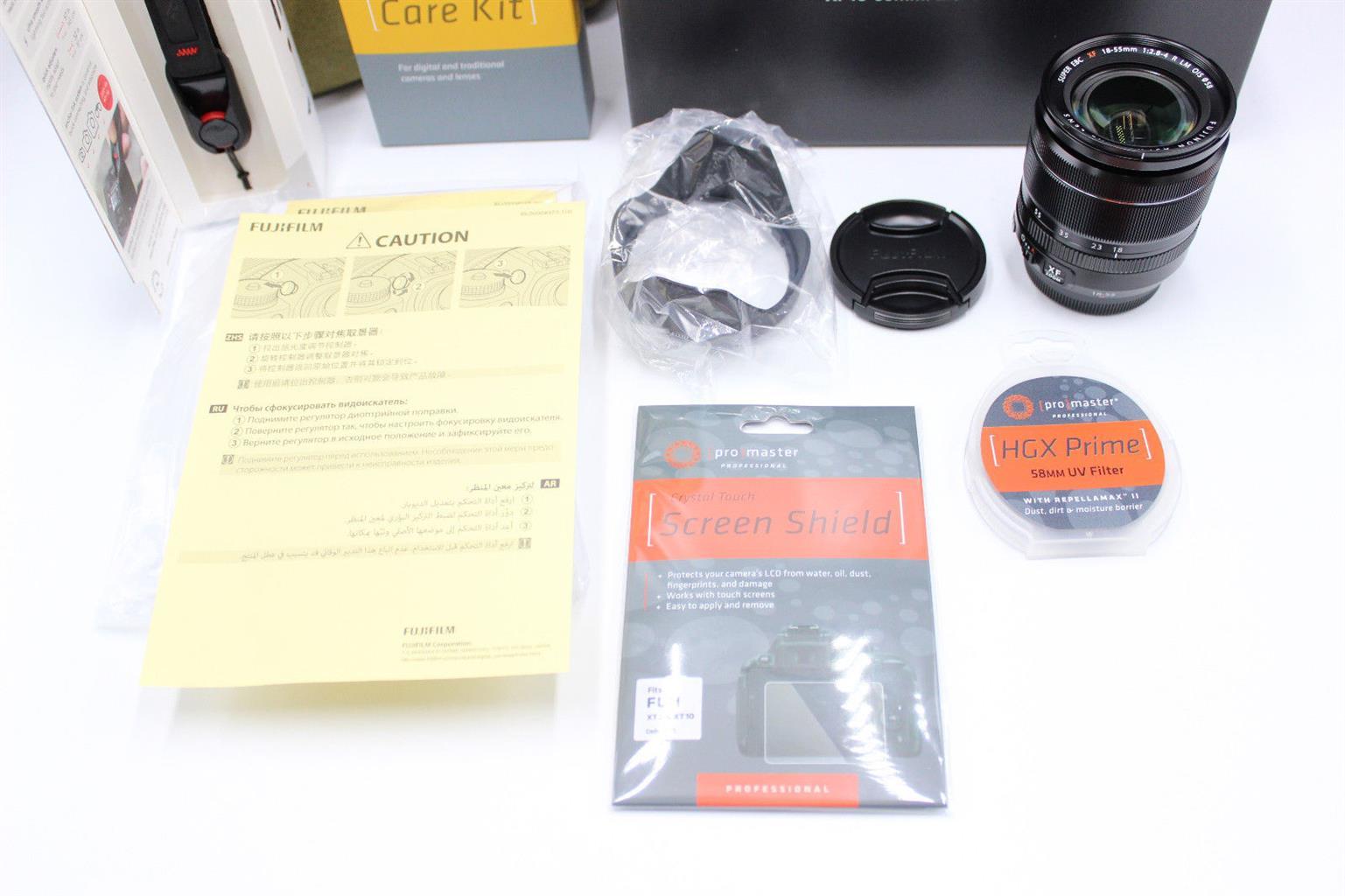 Fujifilm xt3 bundle with 18-55mm lens