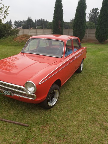 Parcel of 2 MK1 Cortinas partly restored
