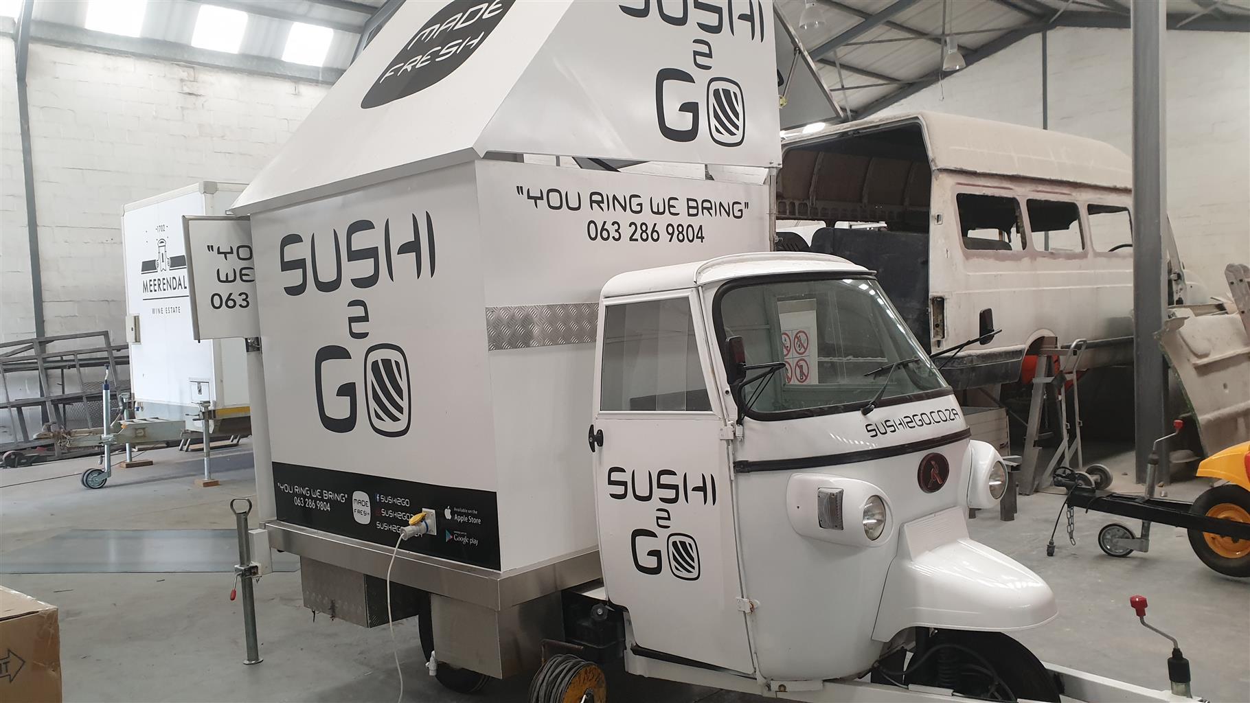 Pre Owned Sushi Tuktuk