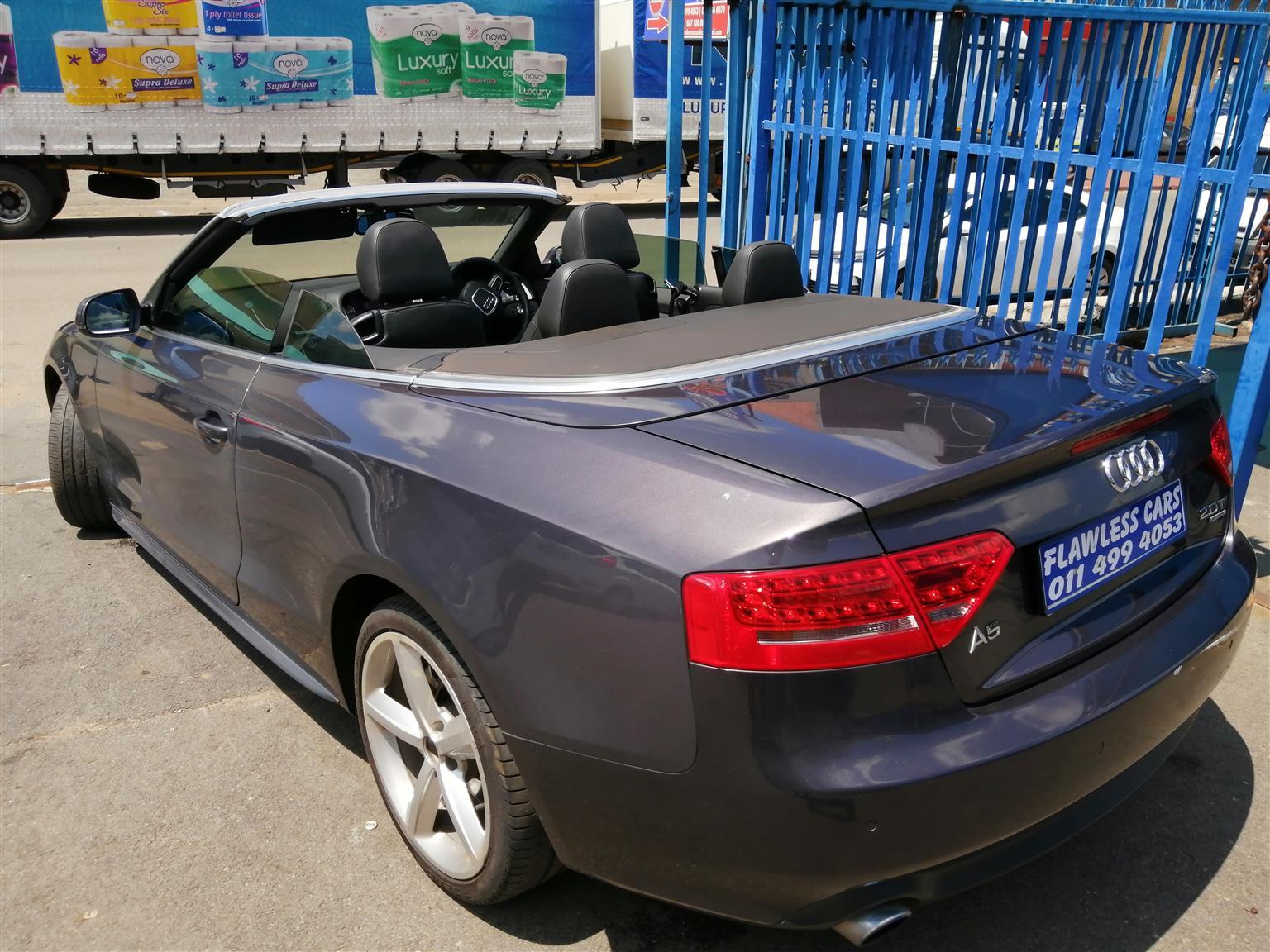 2012 Audi A5 cabriolet 2.0T quattro