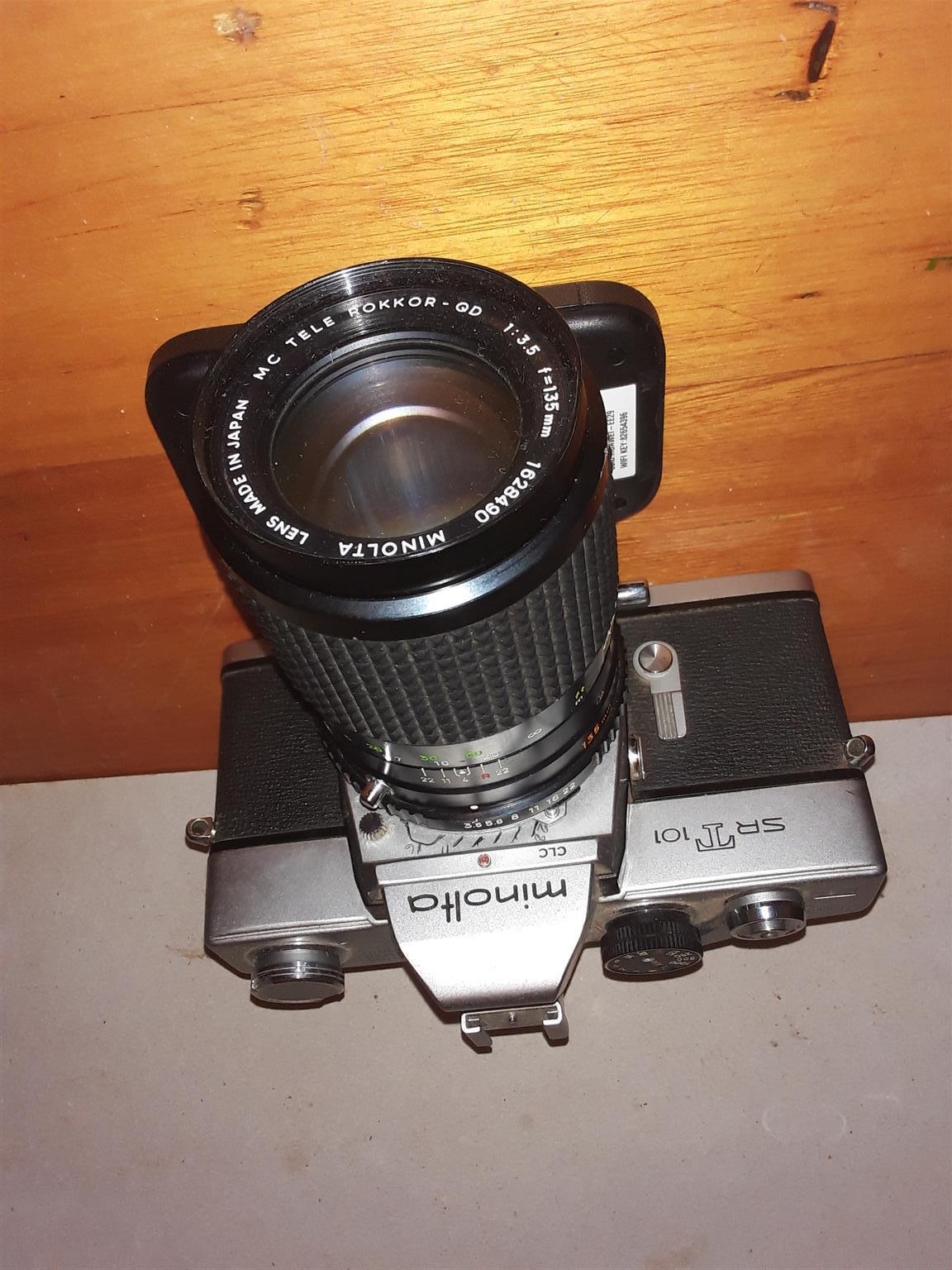 Minolta SR T 101