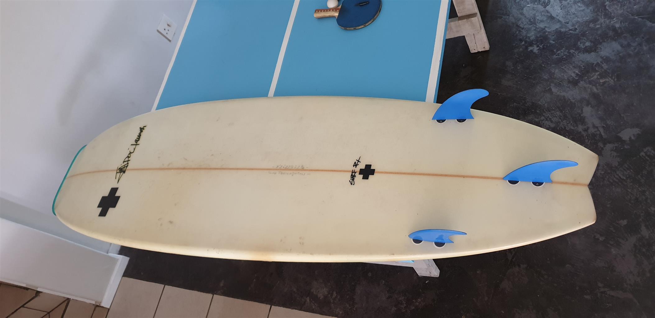 "Great condition mini mal 7.2"" surfboard"