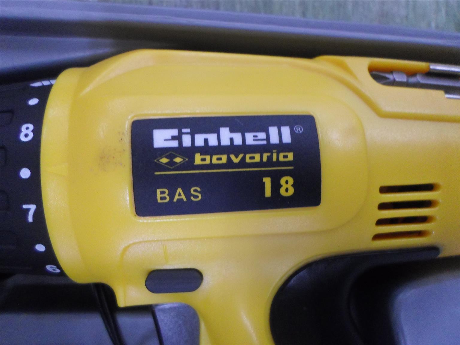 Einhell Bavaria 18V Cordless Drill