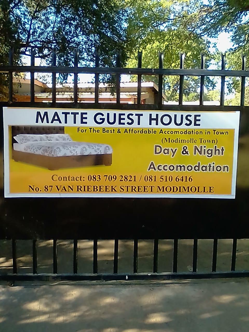 Temporary accommodation available