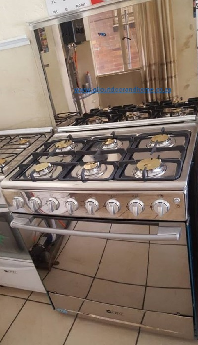 Back in stock-Value for Money- Zero 6 burner gas stove -Beat the price increase and move off the grid- load shedding