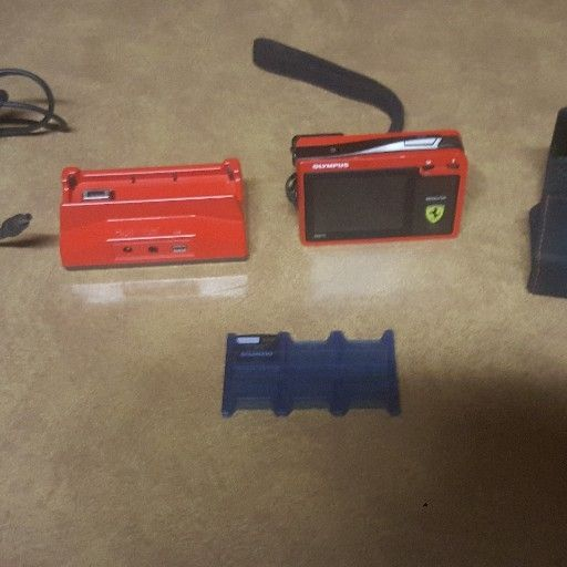 Camera - Limited Addition Ferrari Digital Camera