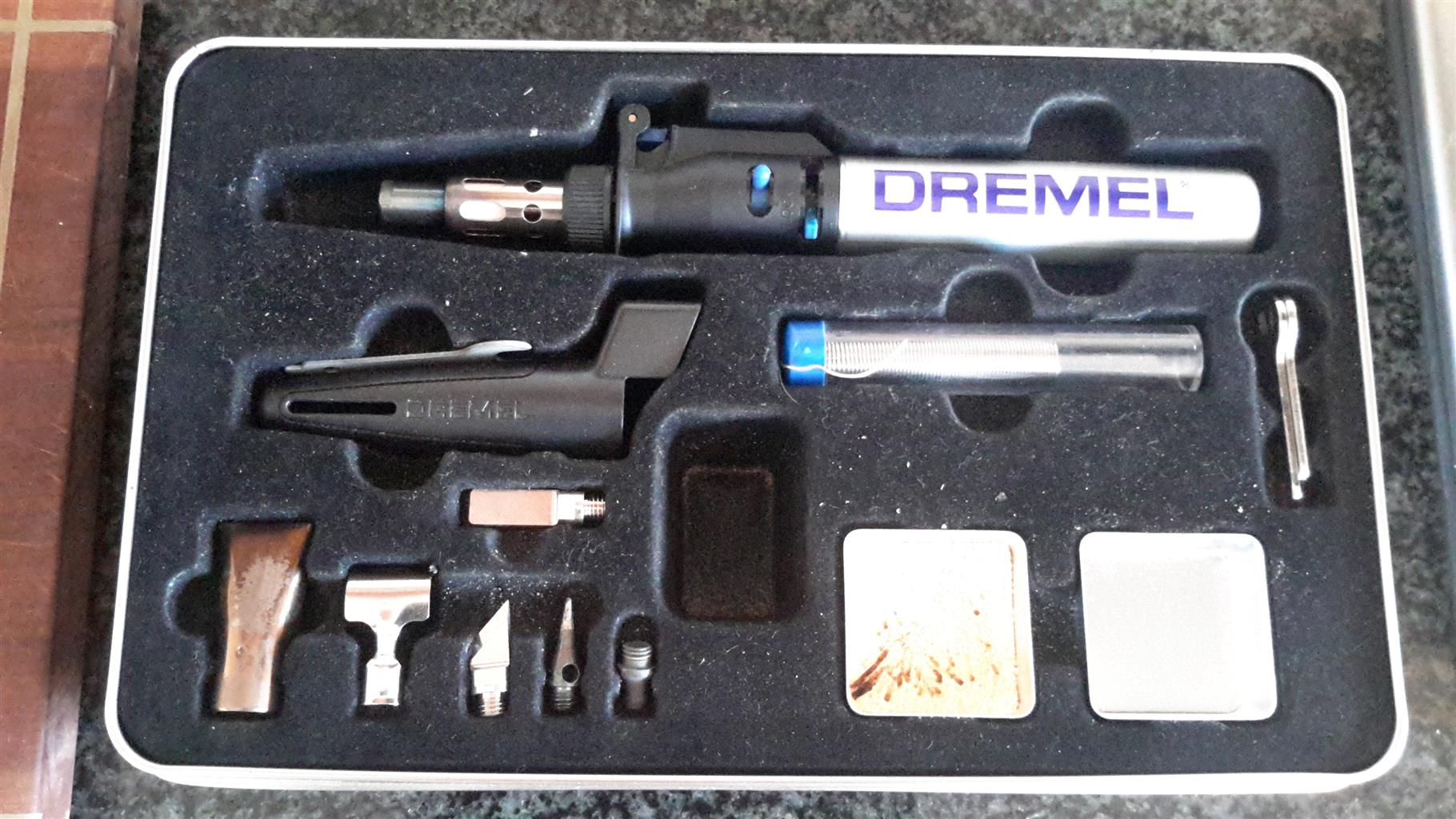 Dremel gas soldering iron and mini blow torch