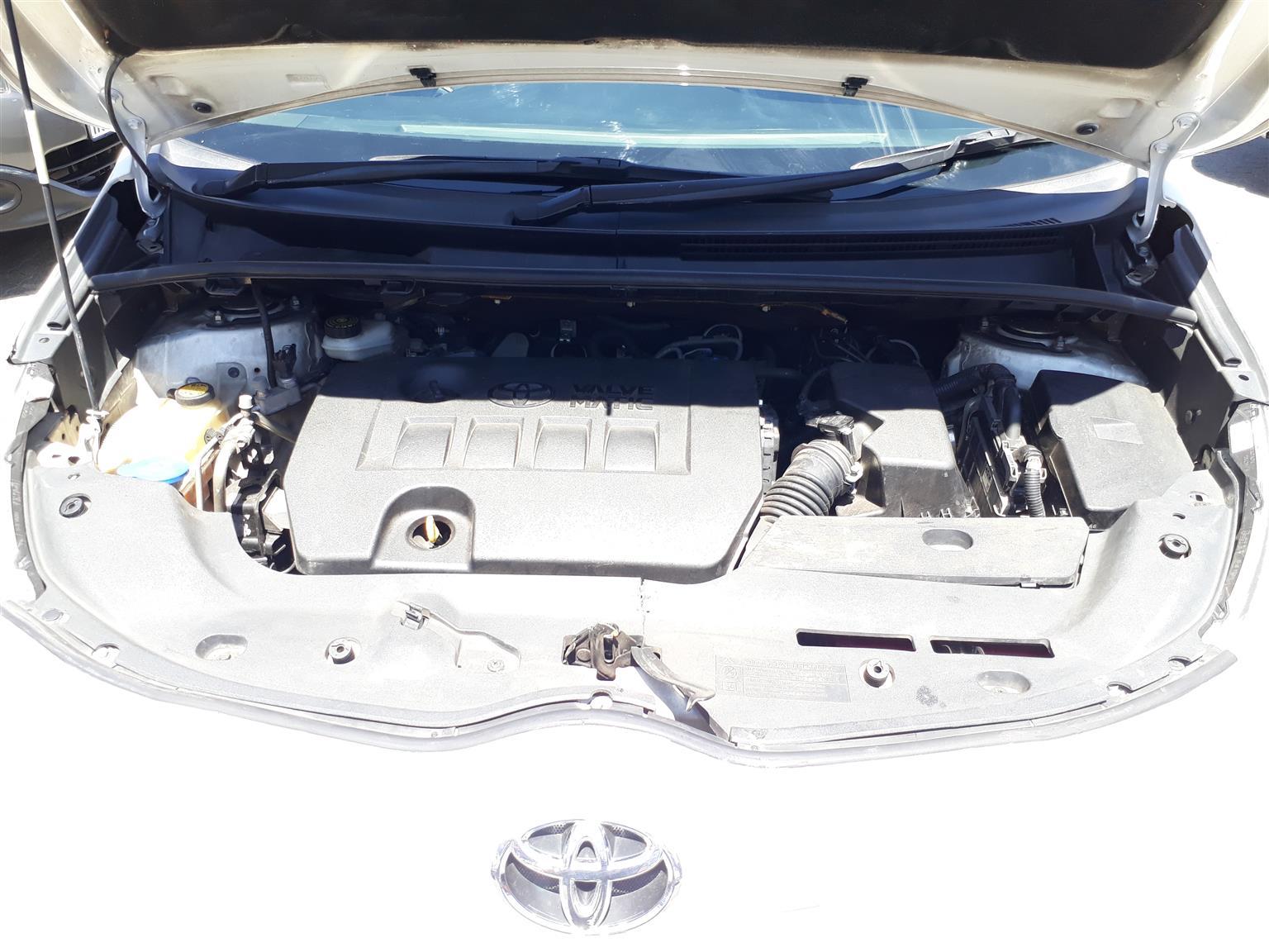 2012 Toyota Verso 1.8 TX auto
