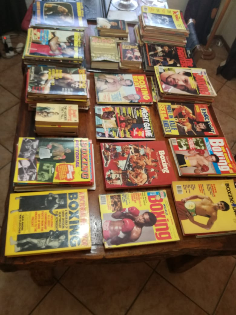 Boxing Magazines & Books from 1973 to 2000