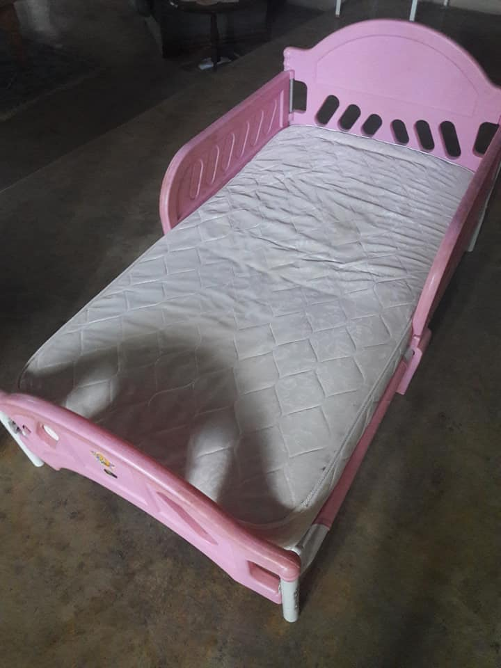 Kinder bedjie net matrasssie