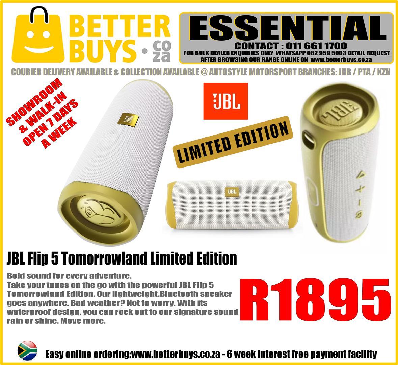 JBL Flip 5 speaker Tomorrowland Edition