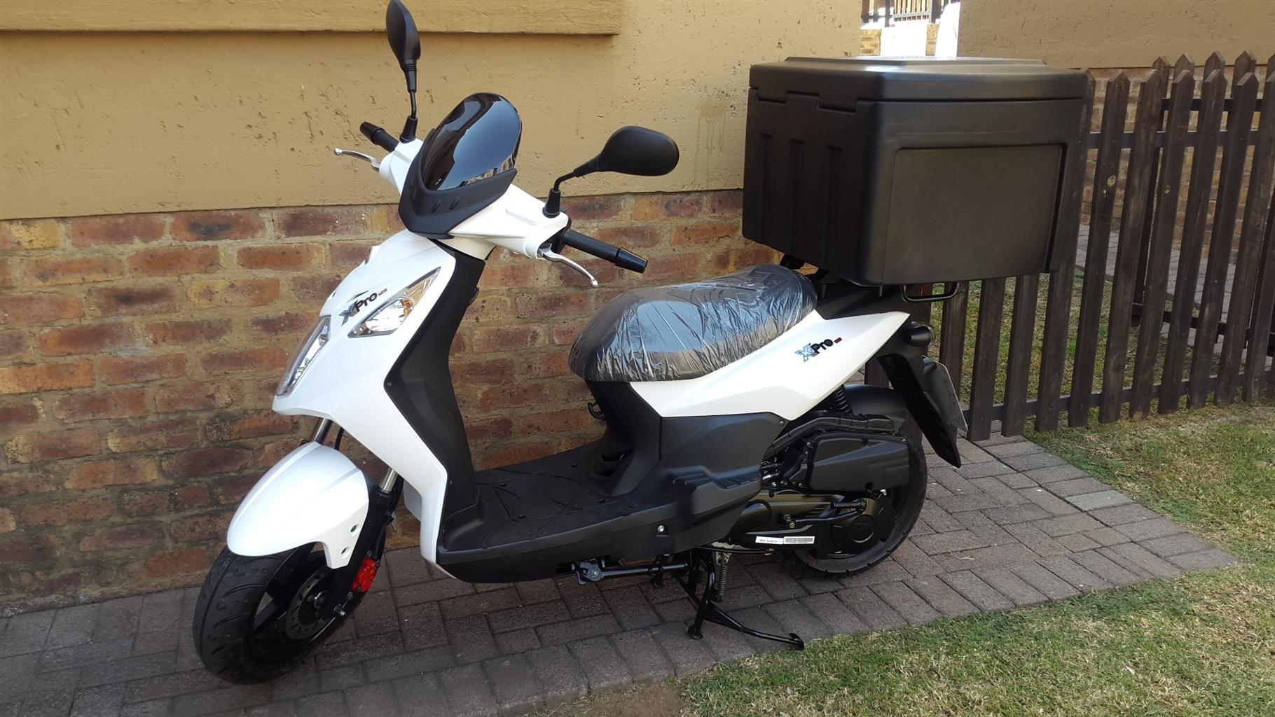 Delivery Scooter Sym X Pro 125cc 2020