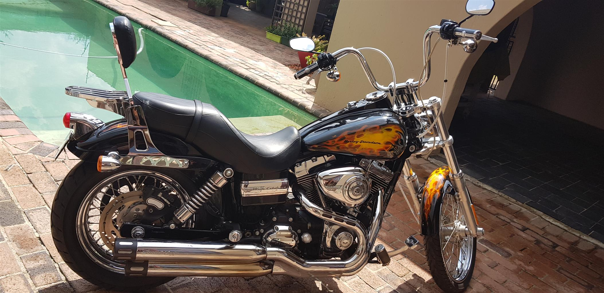 2011 Harley Davidson Wide Glide. Immaculate condition.