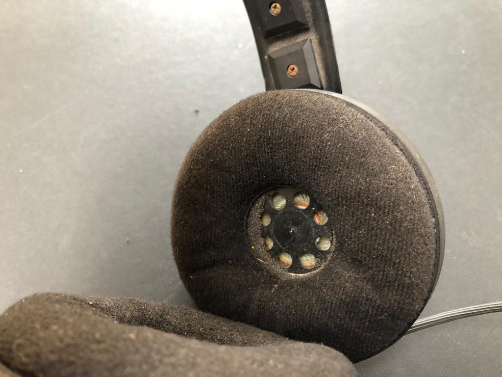 Vintage set of AKG Stereo headphones - in perfect working condition