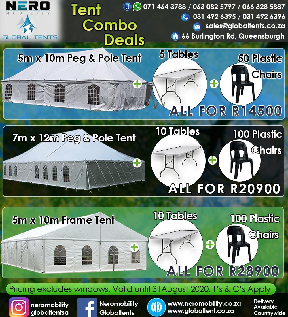 Tent Combo Specails