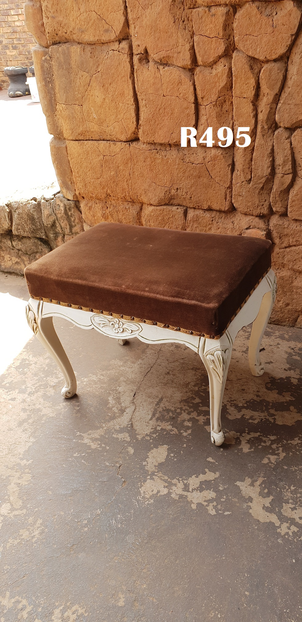 Antique French Dressing Table Chair