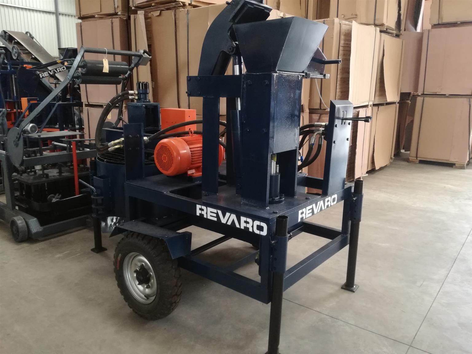 Revaro Hydrablock Mobile Interlocking Block Making Machine