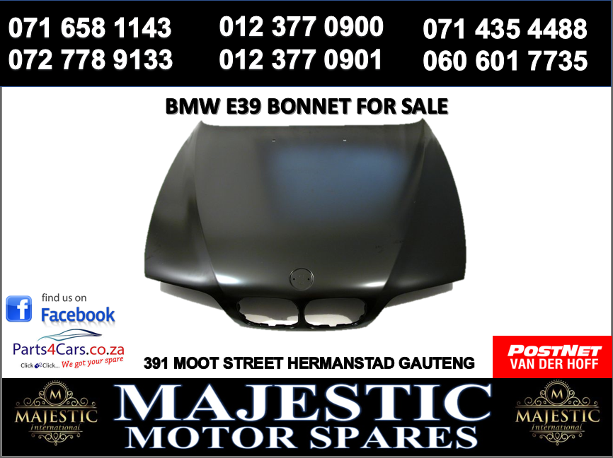 Bmw E39 bonnet for sale