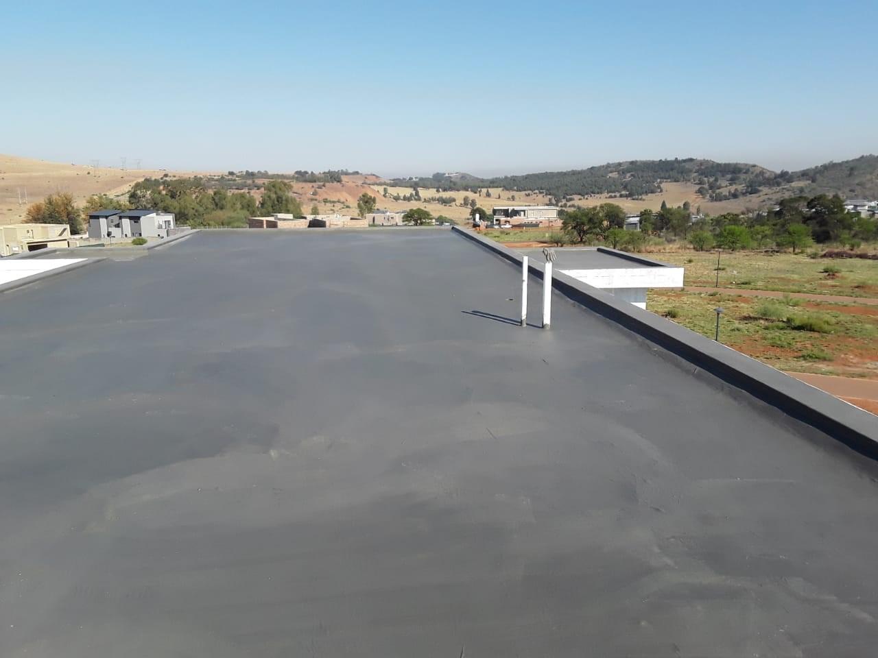 Tar Roads using sub-layered Insitu Materials - Dust Suppression