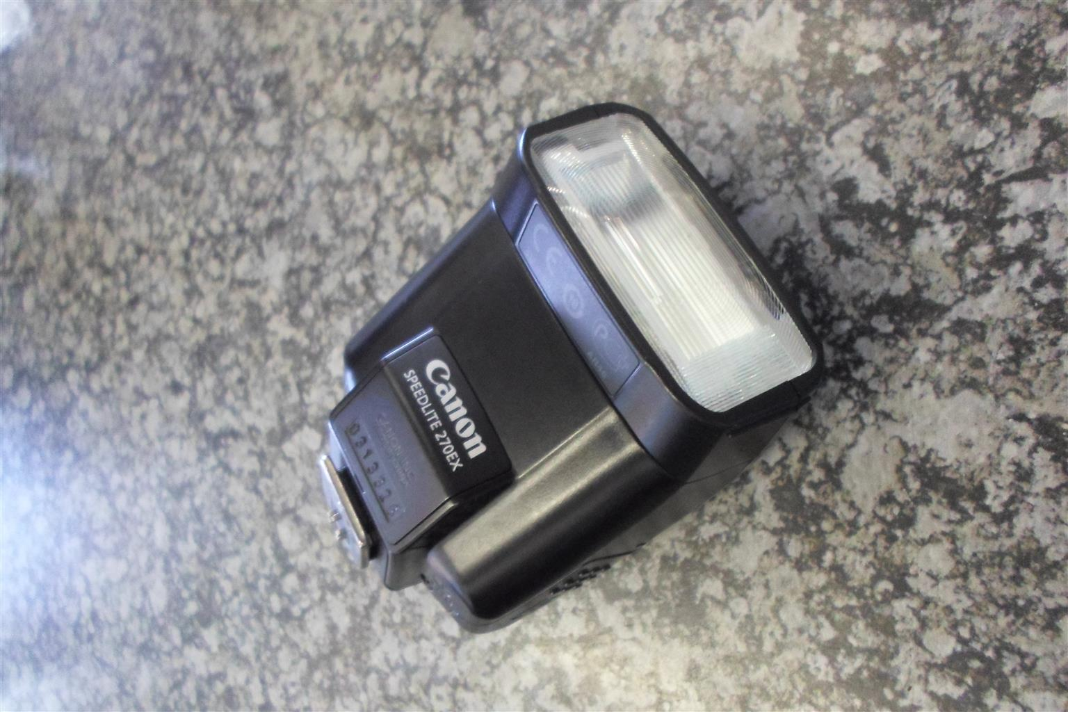 Canon Speedlite 270EX Flash