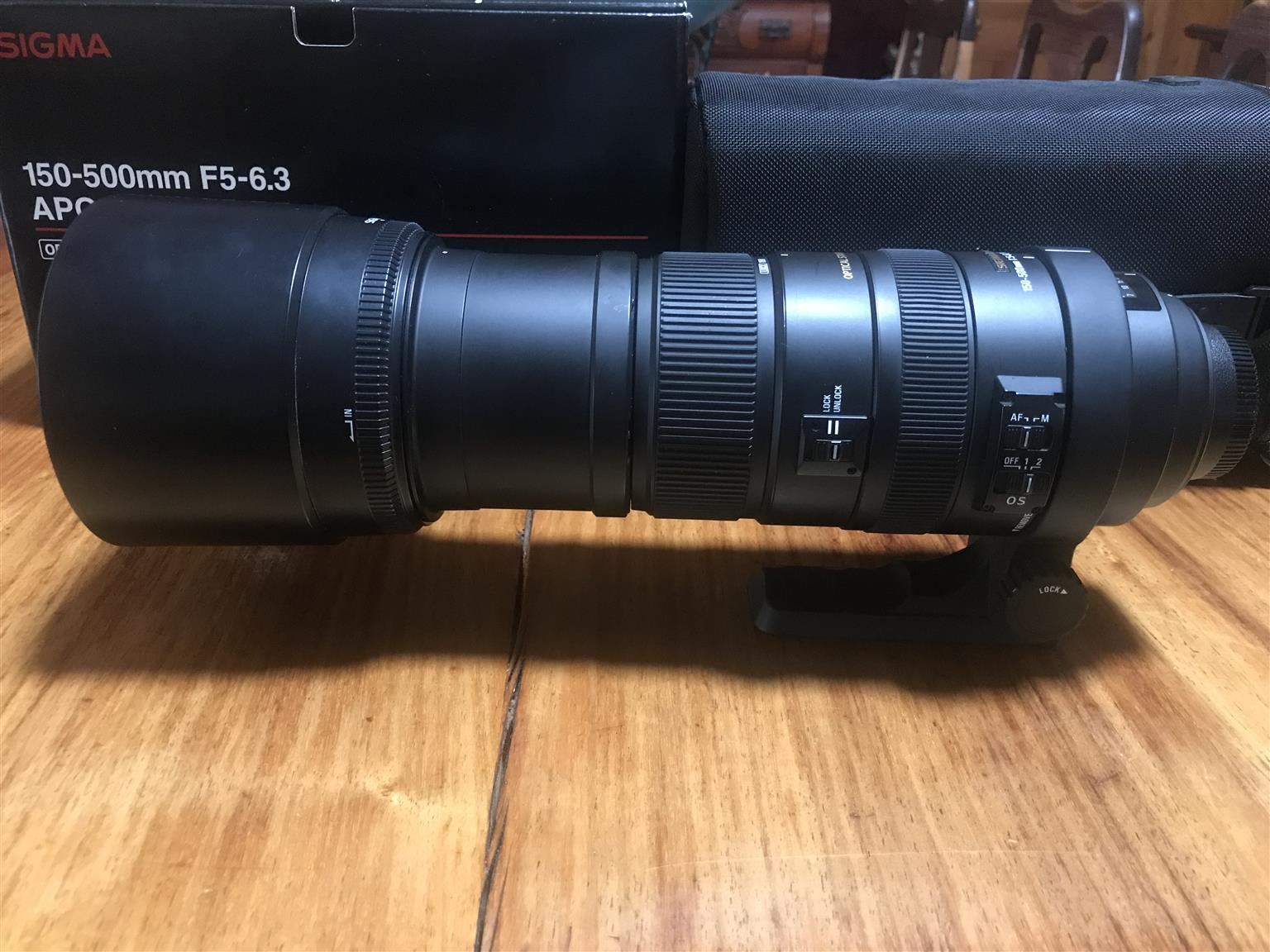Sigma 150 - 500 lense for Cannon or Nikon