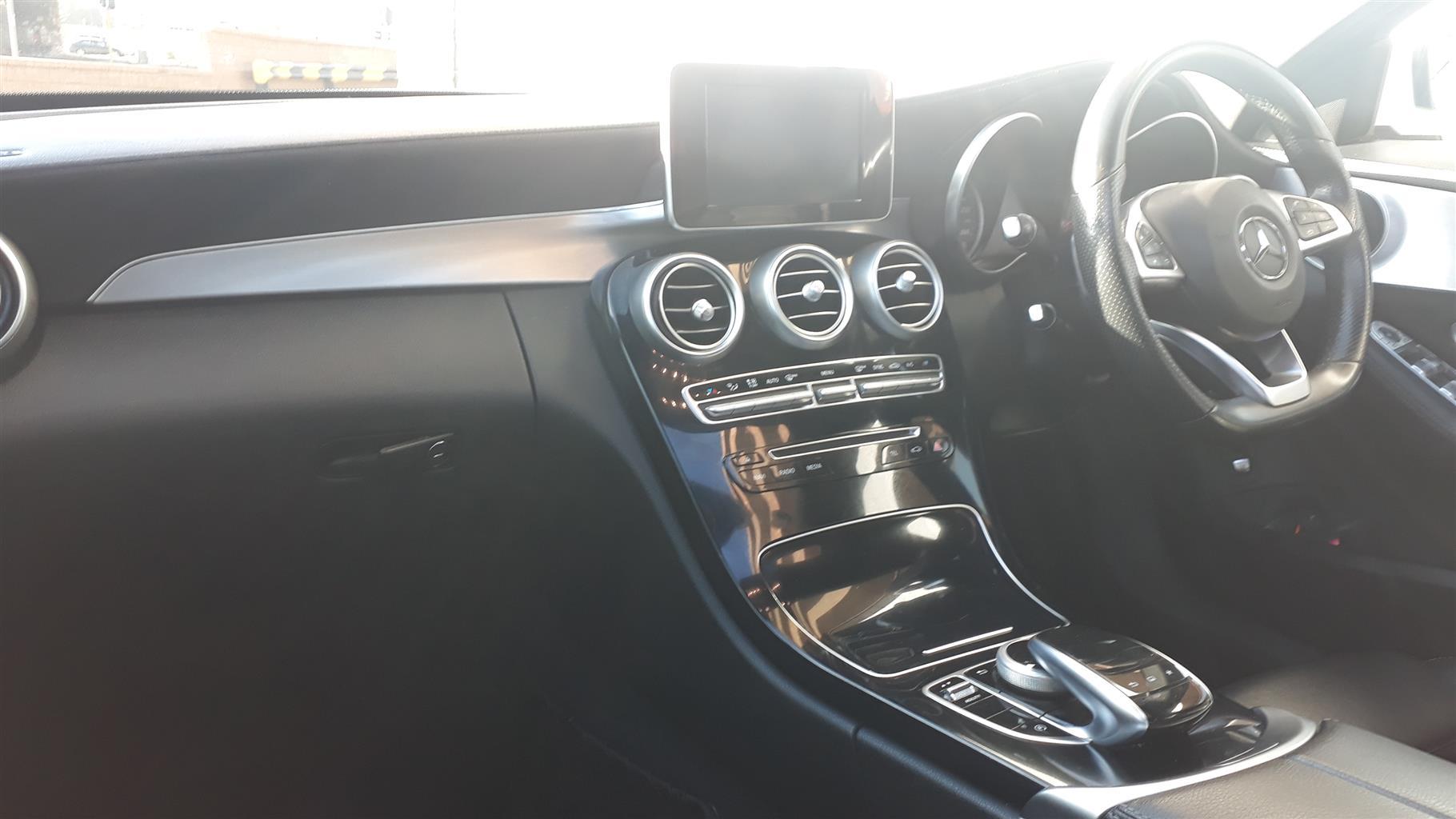 2015 Mercedes Benz C Class C220d AMG Line auto