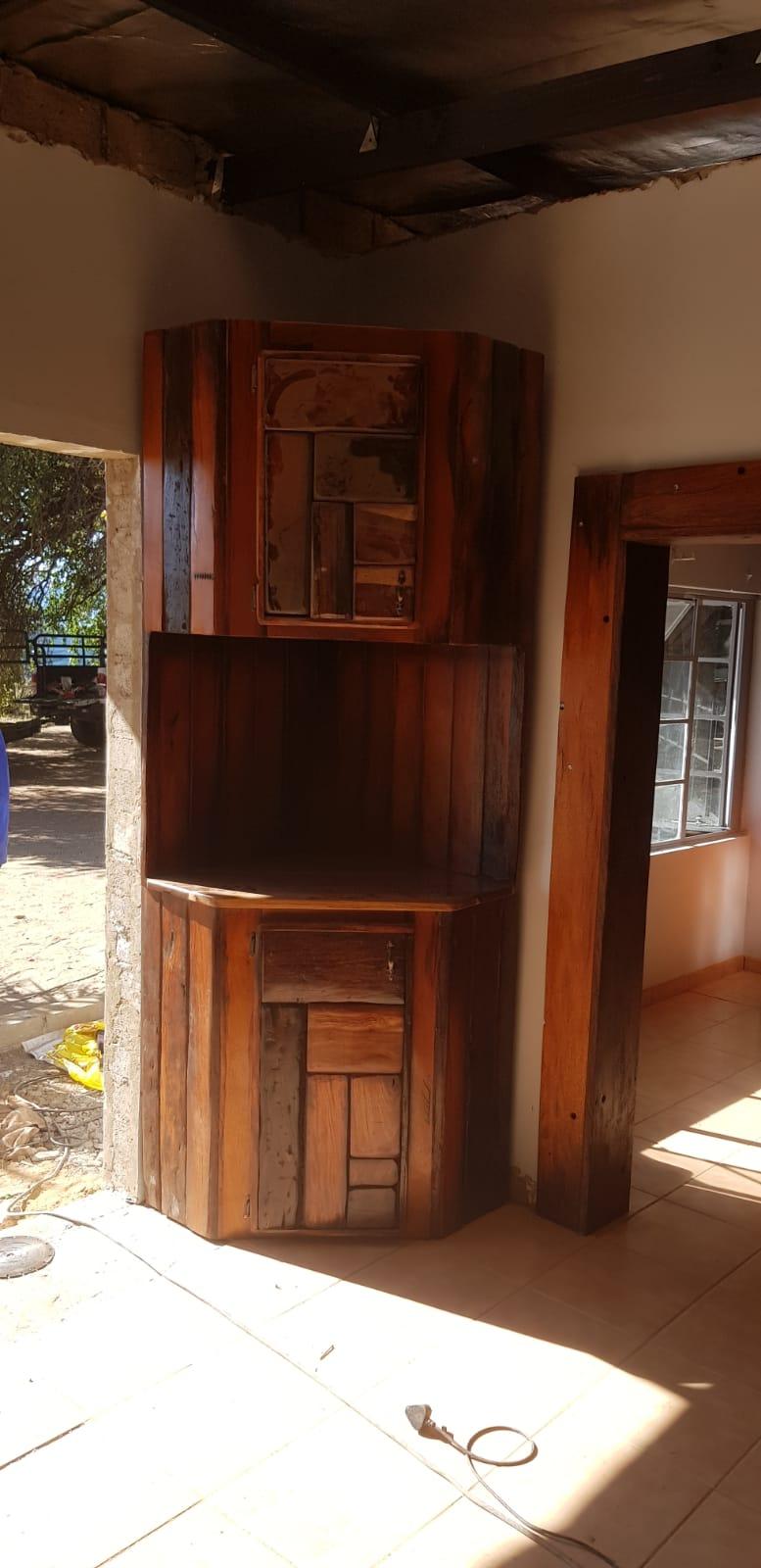 Kitchens and wall units and wardrobe