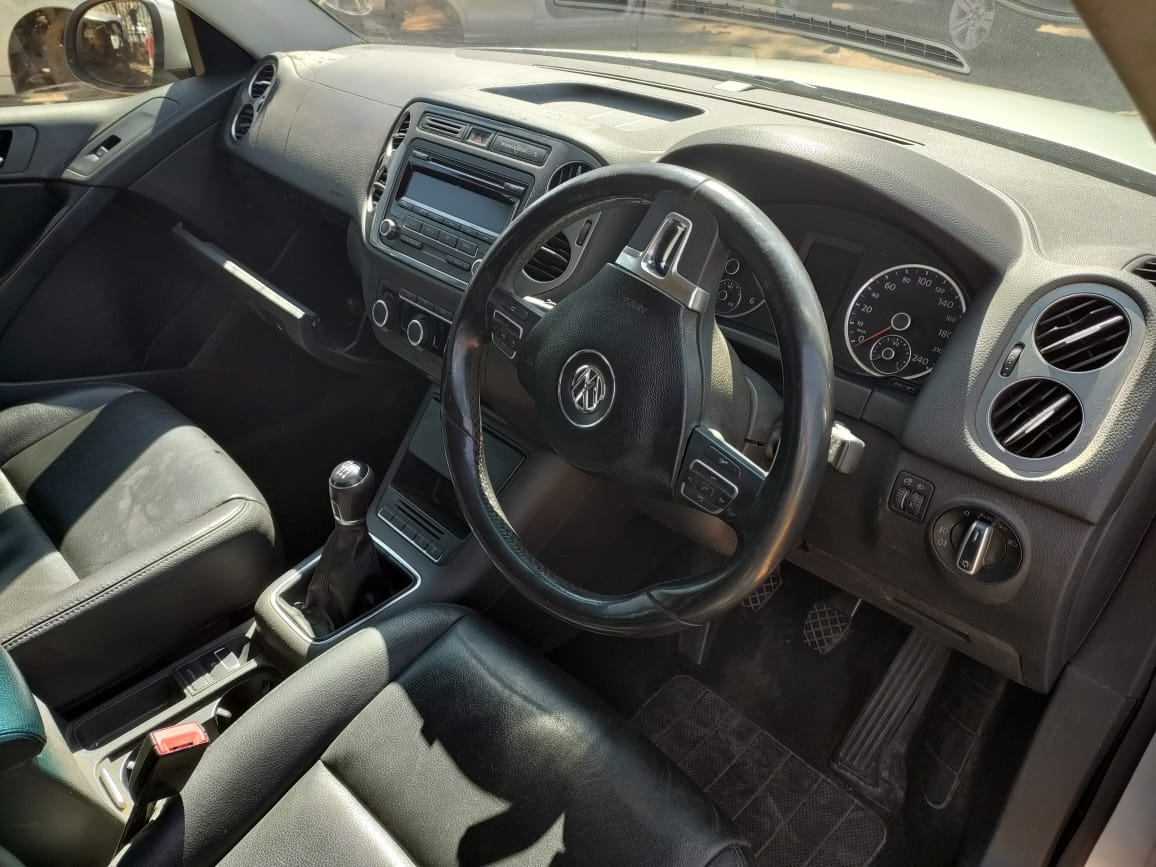 VW TIGUAN 2.0 TDI MANUAL DIESEL CFF 2012 SPARE FOR SALE