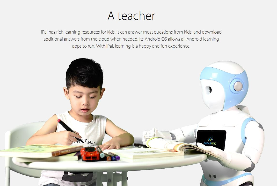 iPal - Educational Robot - Teach kids Programming