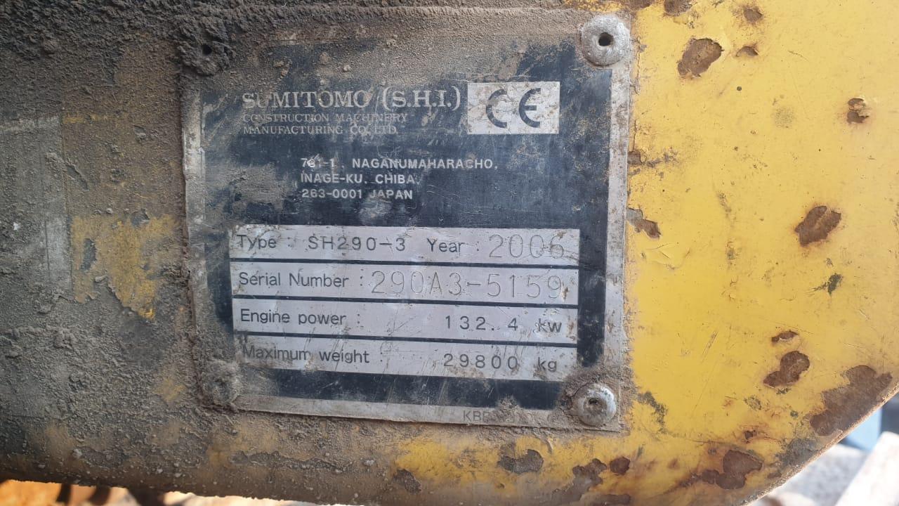 Sumitomo SH290-3