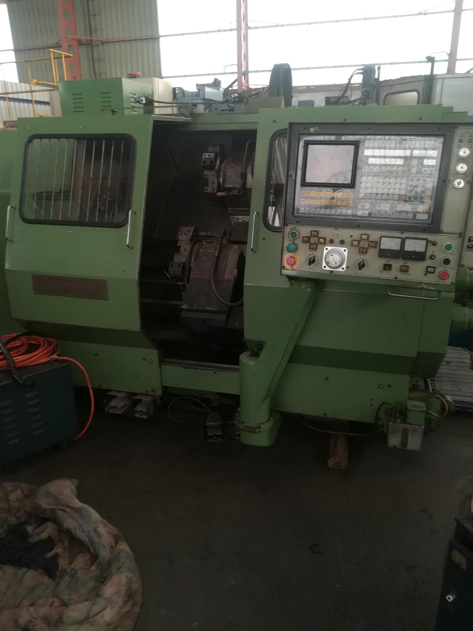 Okuma LC 20 CNC lathe for sale