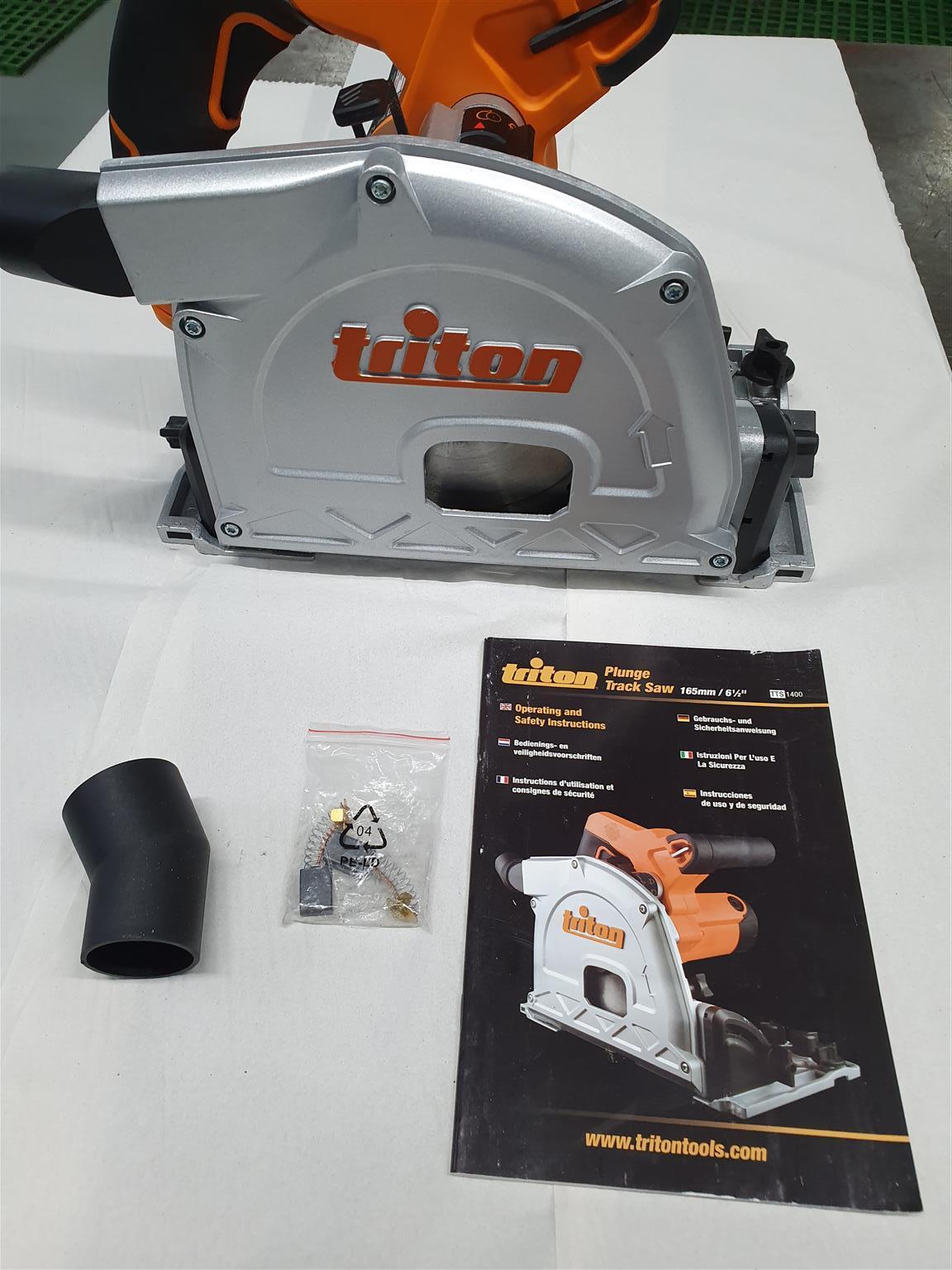 Triton plinge saw and track