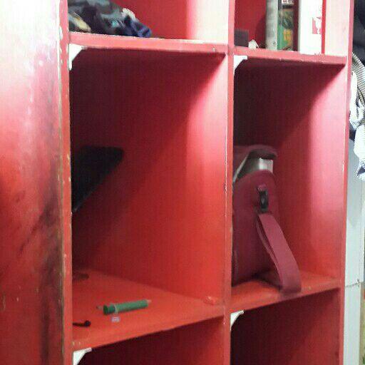 shelves and corner unit