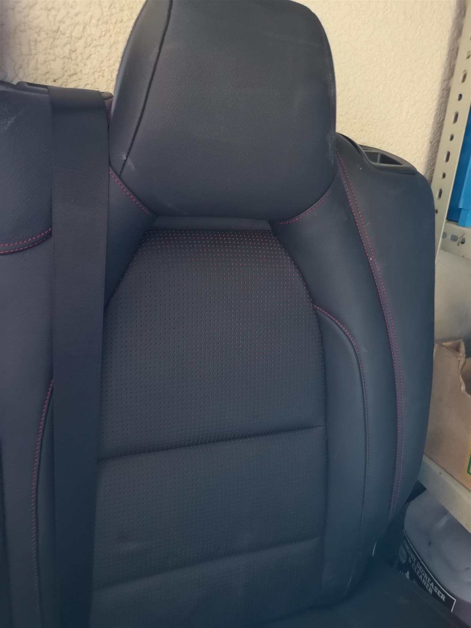 Mercedes a class w176 rear seat