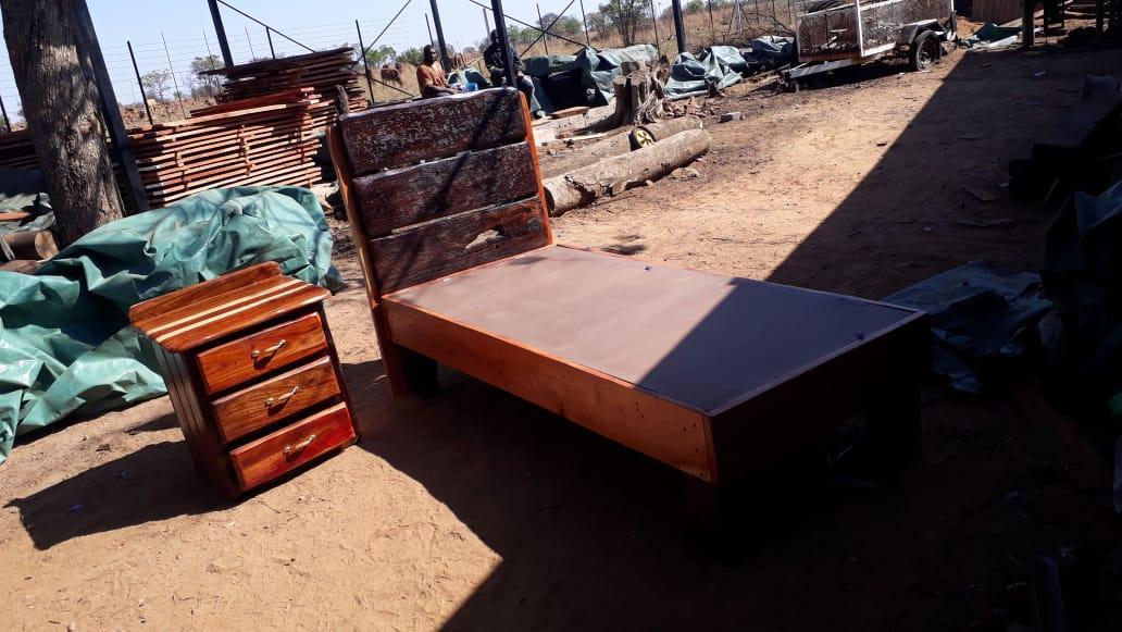 Sleeper wood bed bases