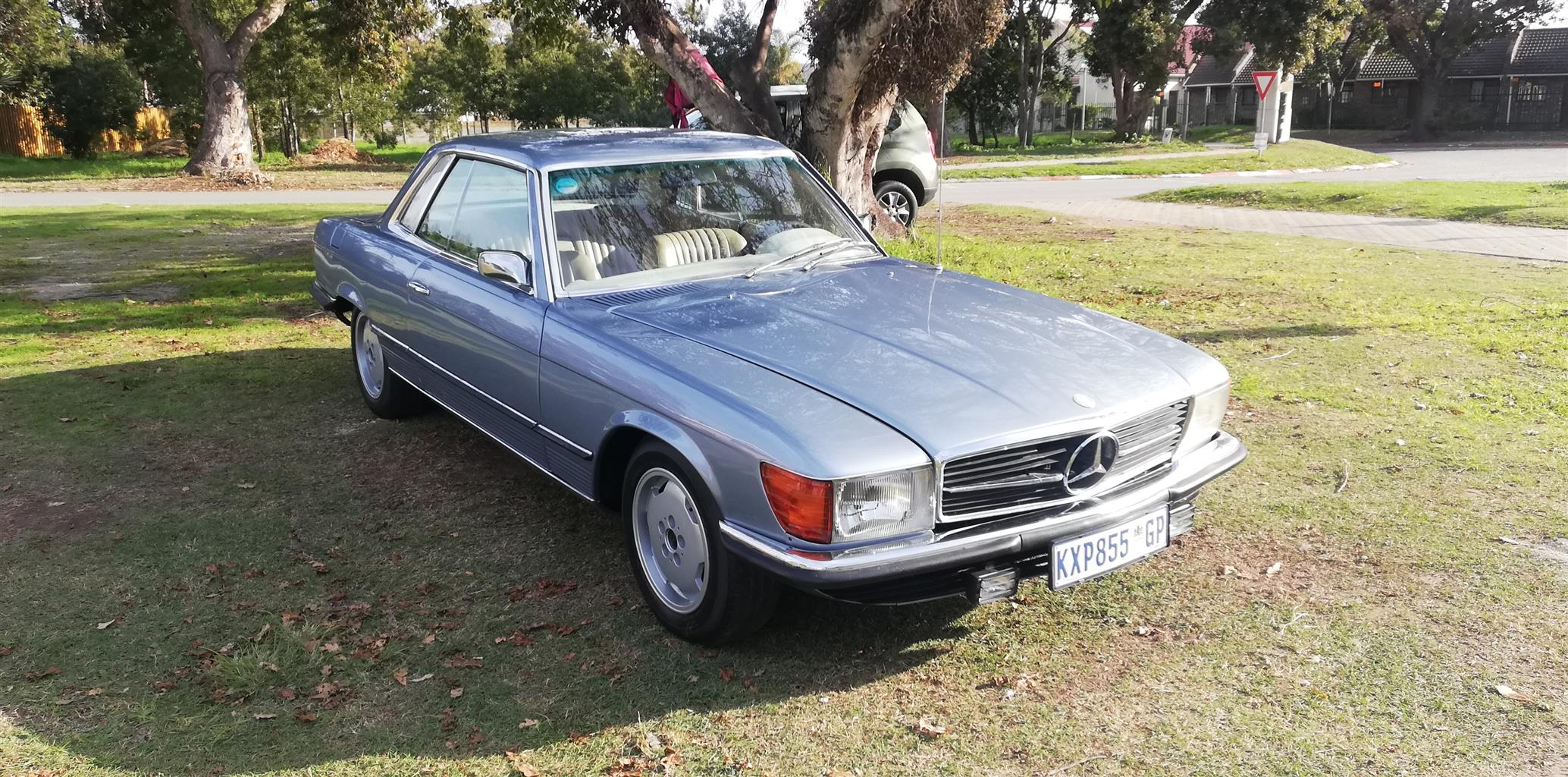 1973 Mercedes 350 SLC Manual