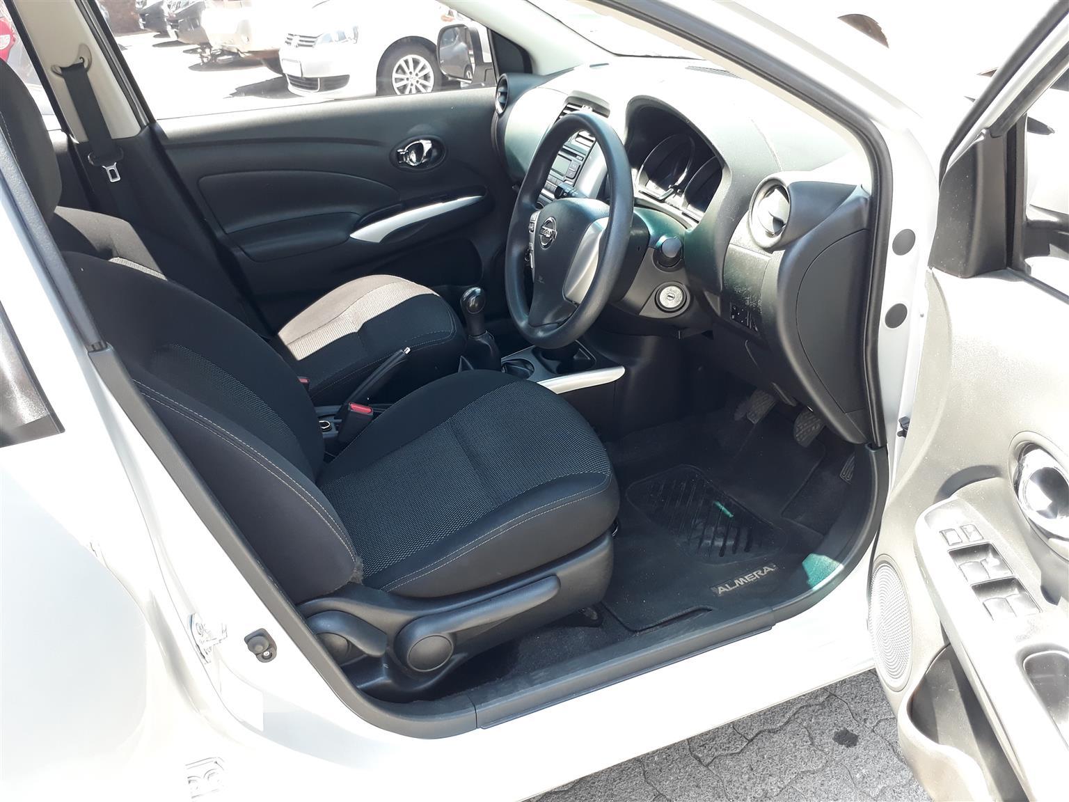 2017 Nissan Almera 1.5 Acenta