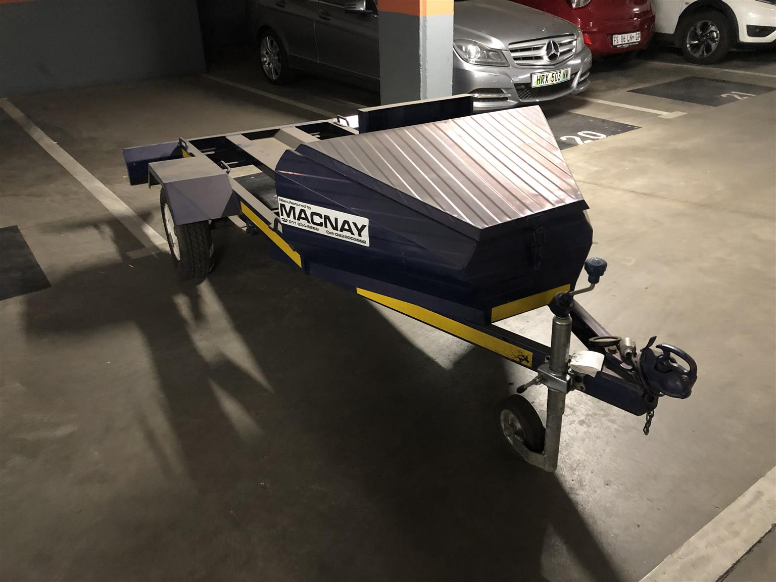 Motorcycle trailer xl