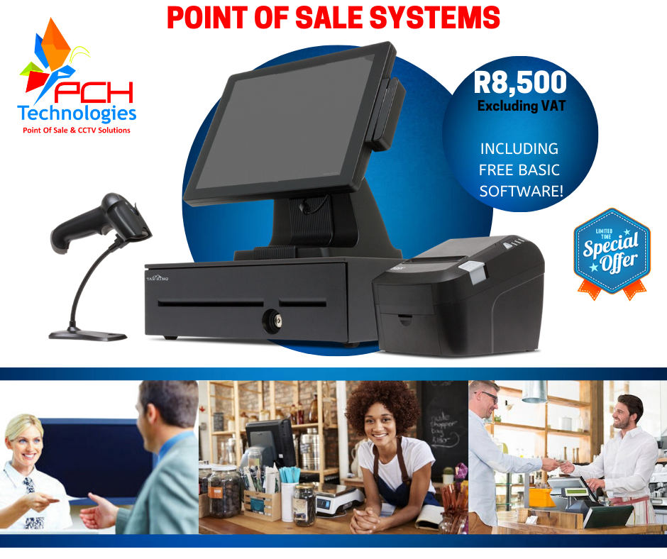 Platinum Point of Sale Systems for Retail or Hospitality Market POS Systems