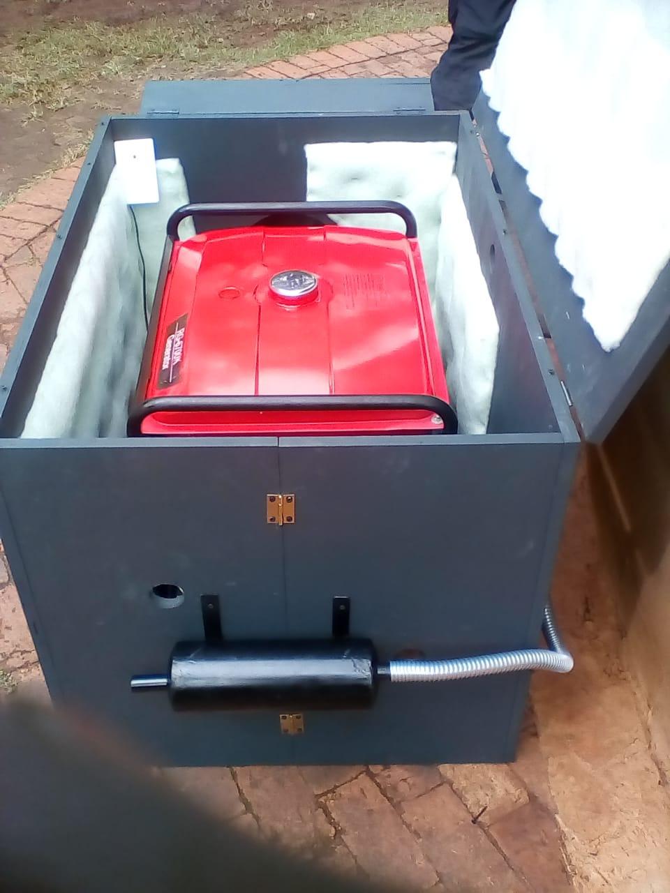 Generator enclosures and silencers