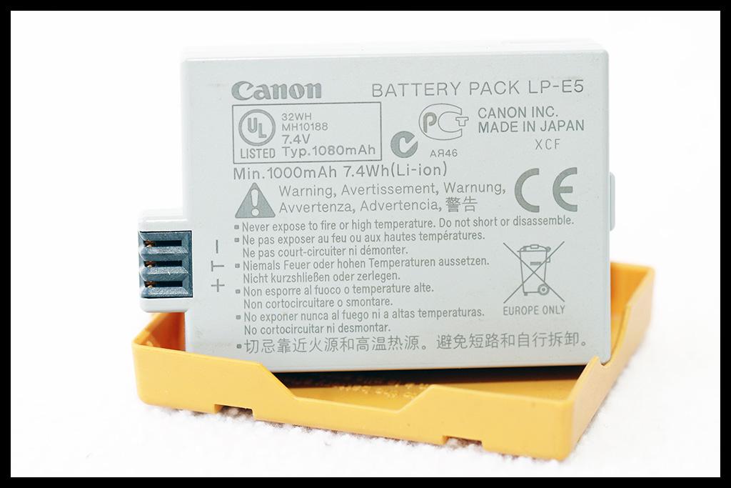 Canon LP-E5 Battery