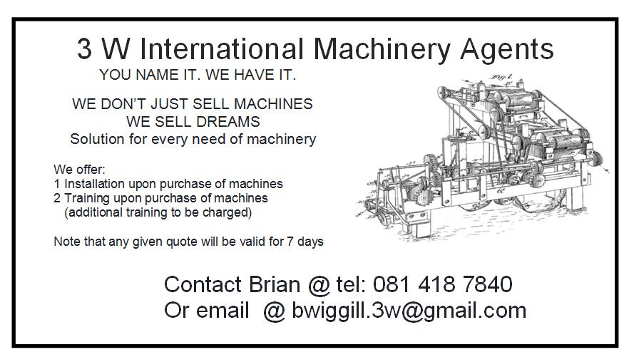 3W International Machinery Agents